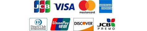 クレジットカード使用可能